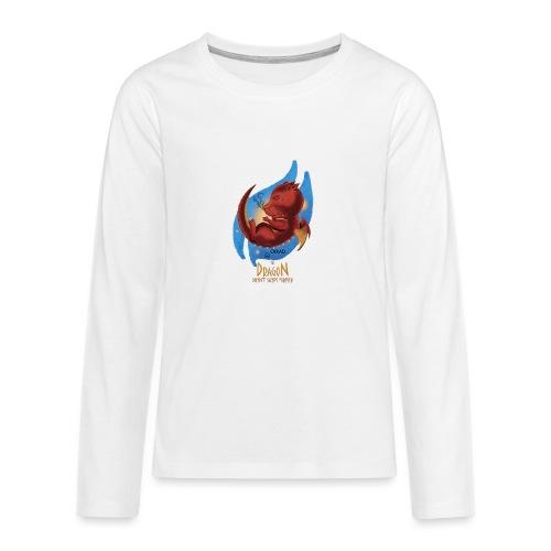 Draco Dormiens - Maglietta Premium a manica lunga per teenager