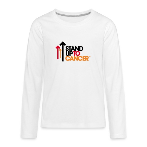 stand up to cancer logo - Teenagers' Premium Longsleeve Shirt