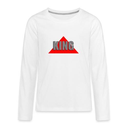 King, by SBDesigns - T-shirt manches longues Premium Ado