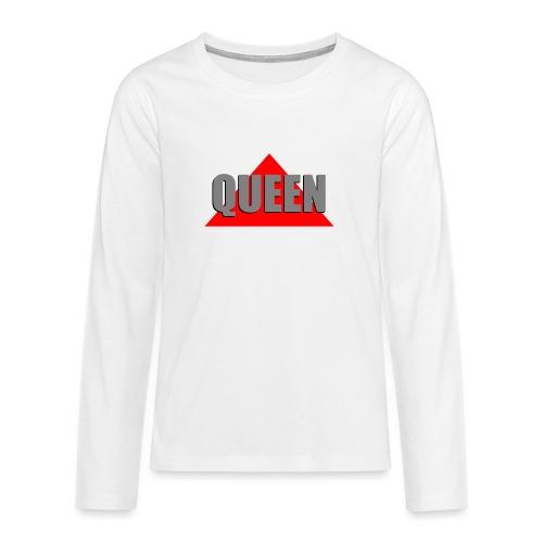 Queen, by SBDesigns - T-shirt manches longues Premium Ado