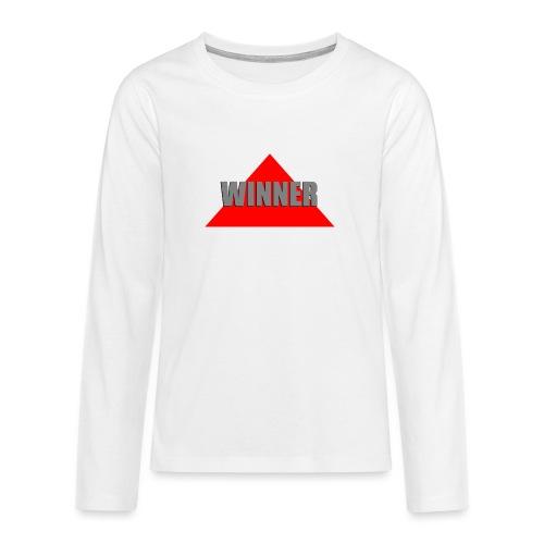 Winner, by SBDesigns - T-shirt manches longues Premium Ado