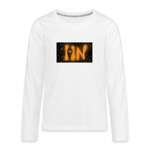 Logró de tienda - Camiseta de manga larga premium adolescente