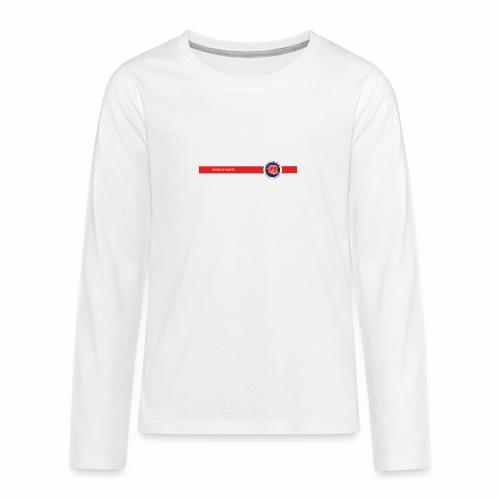 GRAINE DE POMPIER KIDS BLANC - T-shirt manches longues Premium Ado