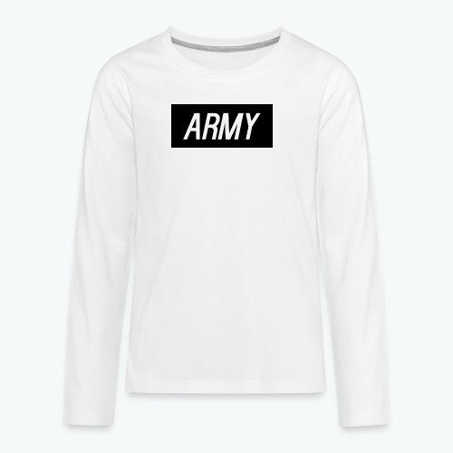 army1 - Teenagers' Premium Longsleeve Shirt