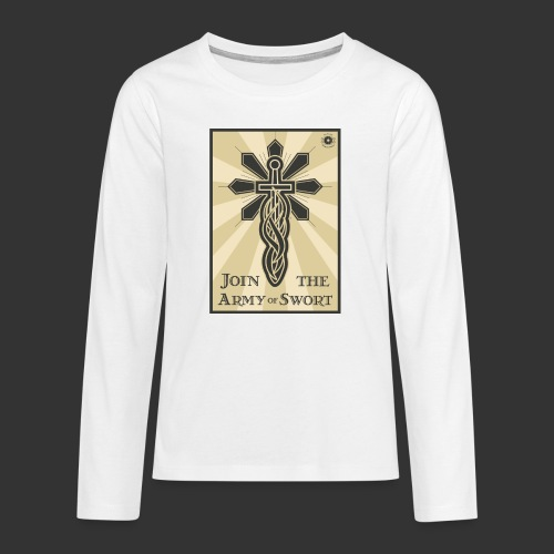 Join the army jpg - Teenagers' Premium Longsleeve Shirt