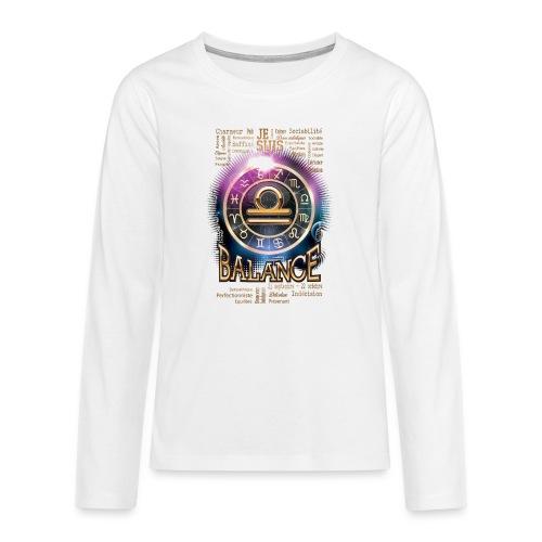 BALANCE - T-shirt manches longues Premium Ado