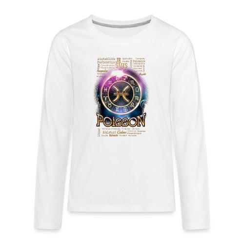 POISSONS - T-shirt manches longues Premium Ado