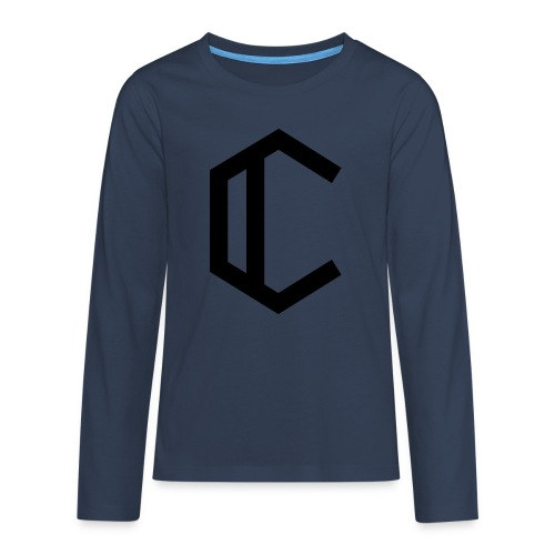 C - Teenagers' Premium Longsleeve Shirt