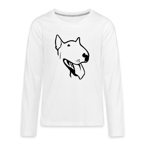bull terrier2 - Teenagers' Premium Longsleeve Shirt