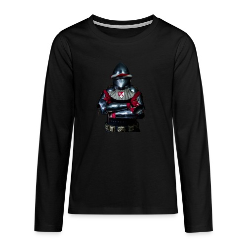 chevalier.png - T-shirt manches longues Premium Ado