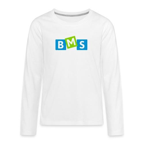 BMS origineel 3kleur outline - Teenager Premium shirt met lange mouwen