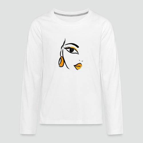 Face - Teenager Premium Langarmshirt