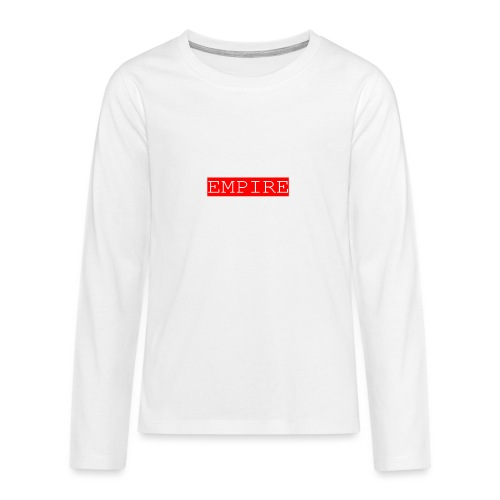 EMPIRE - Maglietta Premium a manica lunga per teenager