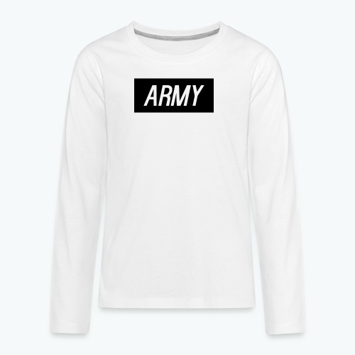 army1 - Teenagers' Premium Longsleeve Shirt
