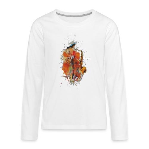 Jazz men - T-shirt manches longues Premium Ado