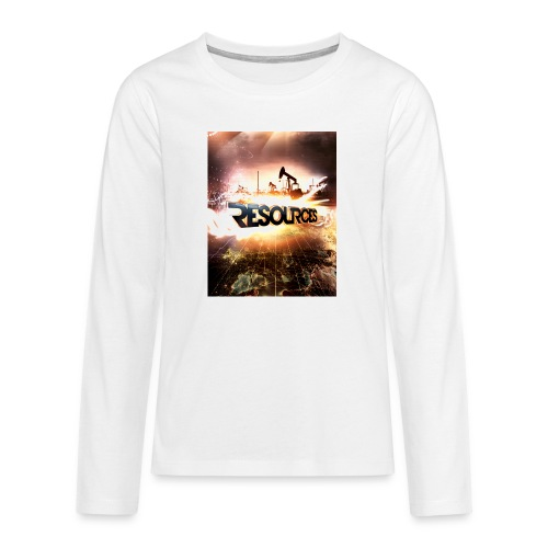 RESOURCES Splash Screen - Teenager Premium Langarmshirt