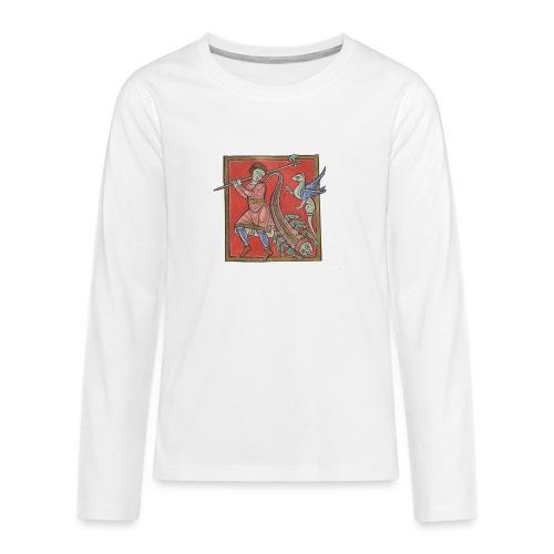 De medicina ex animalibus - Camiseta de manga larga premium adolescente