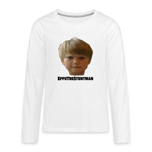 EppuTheStuntman - Teinien premium pitkähihainen t-paita