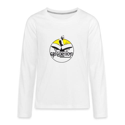 INTRODUKTION ELEKTRO STEELPANIST GREGORY BOYD - Teenager premium T-shirt med lange ærmer