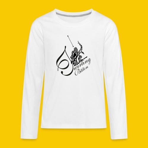 twirling b 2 - T-shirt manches longues Premium Ado
