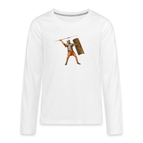 Legionista   Legionary - Koszulka Premium z długim rękawem dla nastolatków