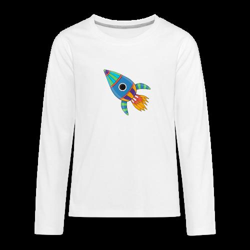 Bunte Rakete - Teenager Premium Langarmshirt