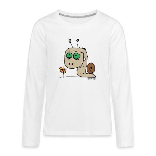 Schnecky - Teenager Premium Langarmshirt