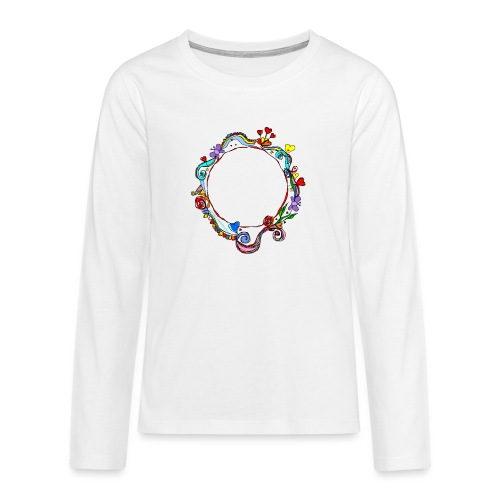 HerzensKreis - Teenager Premium Langarmshirt