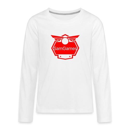 Kids and Babies Clothes - Teenagers' Premium Longsleeve Shirt