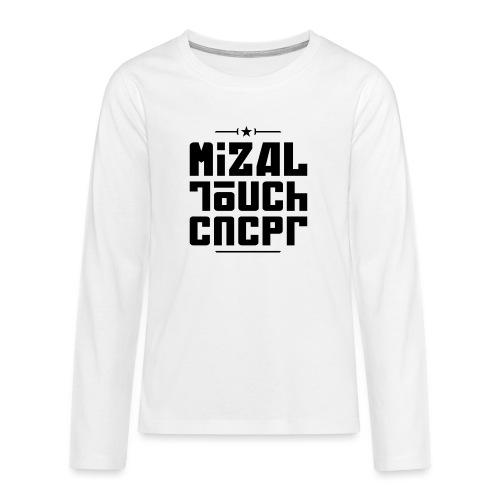 Logo MiZAL Touch Concept - Koszulka Premium z długim rękawem dla nastolatków