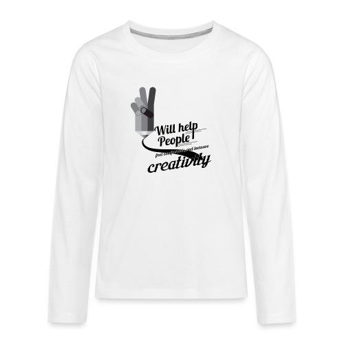 crati - Teenagers' Premium Longsleeve Shirt