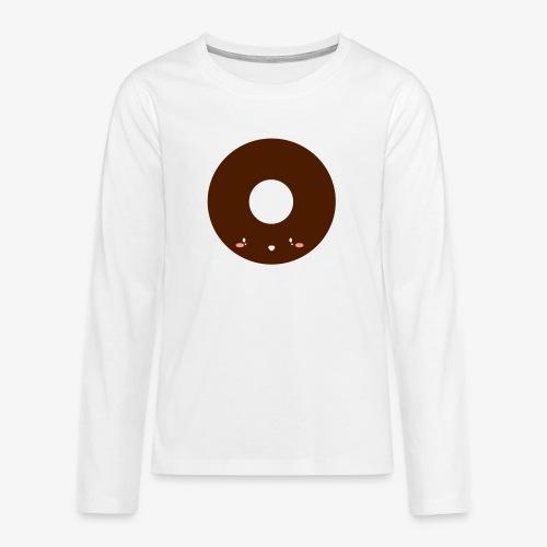 Happy Doughnut - Teenagers' Premium Longsleeve Shirt