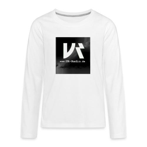 logo spreadshirt - Teenager Premium Langarmshirt