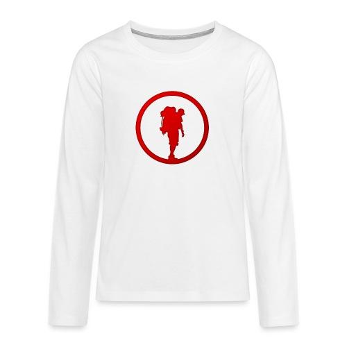 Outdoor Technica Icon - Teenagers' Premium Longsleeve Shirt