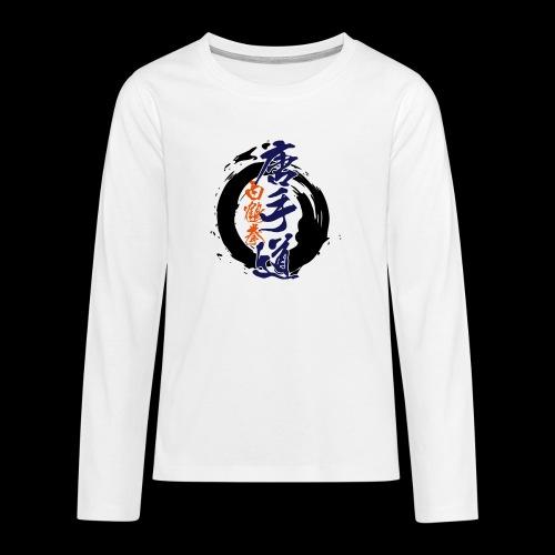 enso karatedo - Teenager Premium Langarmshirt