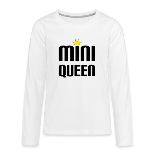 Queen Baby Geschenk - Teenager Premium Langarmshirt