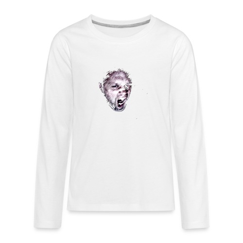 ikke1 png - Teenagers' Premium Longsleeve Shirt