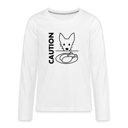 Podengo - Teenager Premium Langarmshirt