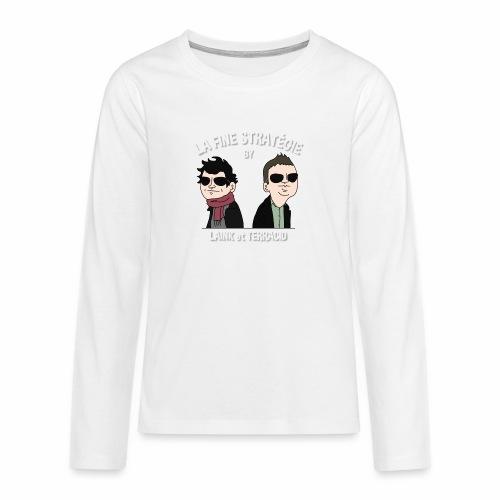 lafinestratégie - T-shirt manches longues Premium Ado