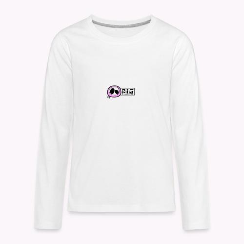 logo_PIGstudio-png - Maglietta Premium a manica lunga per teenager