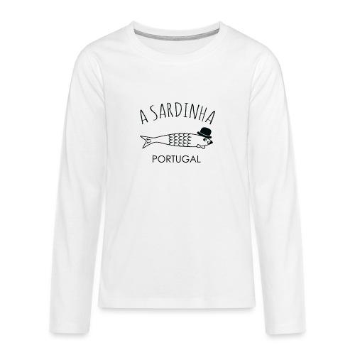 A Sardinha - Portugal - T-shirt manches longues Premium Ado