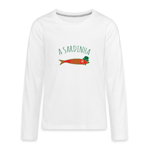A Sardinha - Bandeira - T-shirt manches longues Premium Ado