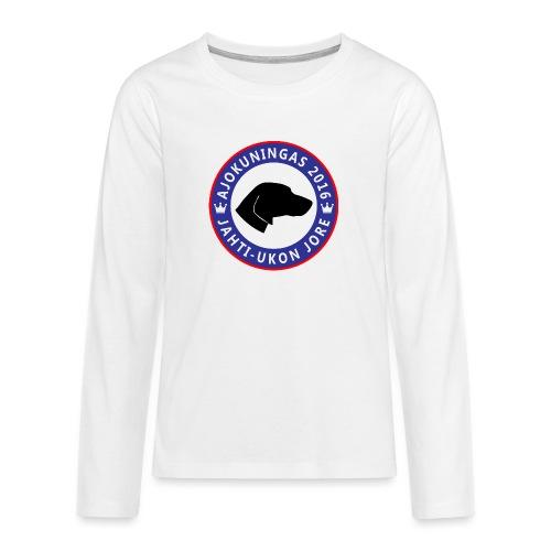 Ajokuningas t-paita - Teinien premium pitkähihainen t-paita