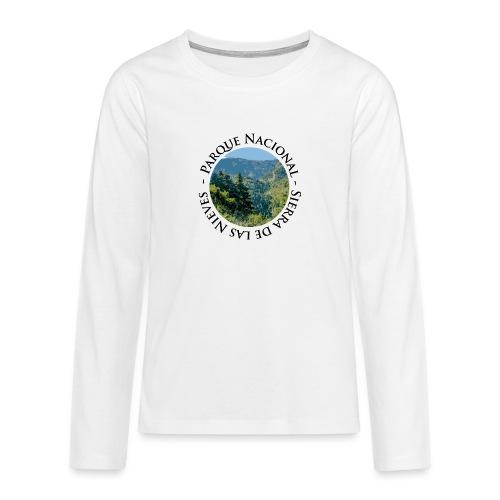 Parque Nacional Sierra de las Nieves - Camiseta de manga larga premium adolescente