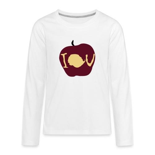 IOU (Sherlock) - Teenagers' Premium Longsleeve Shirt