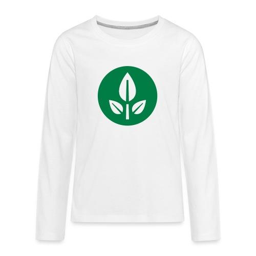 EVE Flower Plant Symbol - Teenagers' Premium Longsleeve Shirt