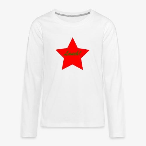 Lauch - Teenager Premium Langarmshirt