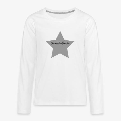 Gesichtselfmeter - Teenager Premium Langarmshirt