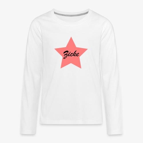 Zicke - Teenager Premium Langarmshirt