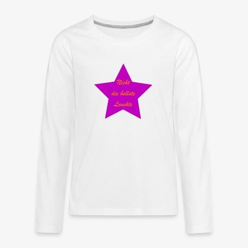 Leuchte - Teenager Premium Langarmshirt